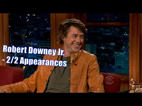 Robert Downey Jr. - They Are Crazy...But In A Different Way. - 2/2 Visits In Chronological Order en streaming