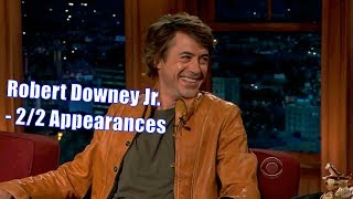 Robert Downey Jr. - They Are Crazy...But In A Different Way. - 2/2 Visits In Chronological Order