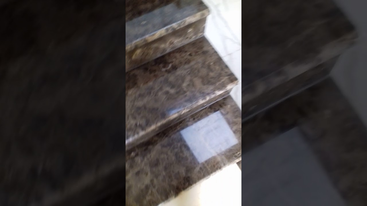 جلي وتلميع درج رخام امبرادور بني اسباني بالرياض 0504956746 Youtube