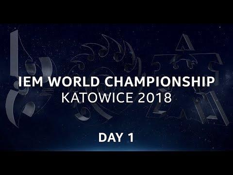 LIVE: SC2 - Day 1 - IEM World Championship Katowice 2018