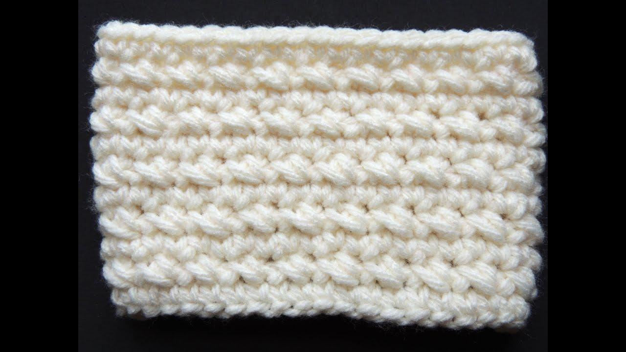Crochet : Punto Bajo Diagonal en redondo - YouTube
