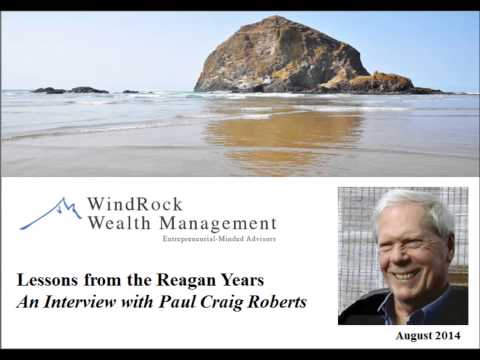 Lessons from the Reagan Years: an Interview with Dr. Paul Craig Roberts
