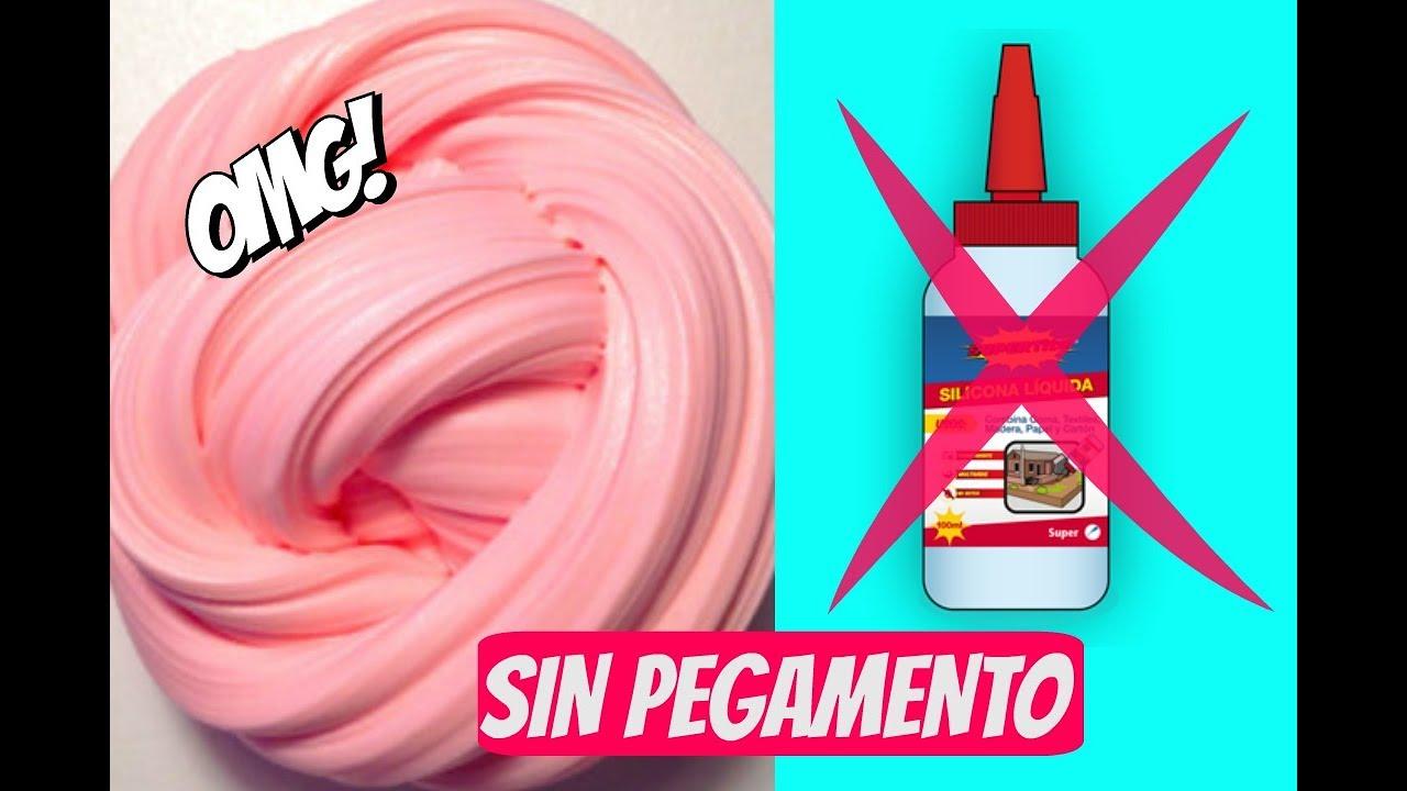 Slime Sin Pegamento Sin Líquido De Lentillas Sin Bórax Slime Que Sí Funcionan Youtube