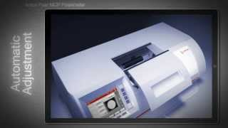 MCP polarimeter: Automatic adjustment