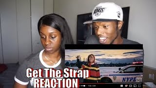 "Uncle Murda | 50 Cent | 6ix9ine | Casanova - ""Get The Strap"" (Official Music Video) [REACTION]"