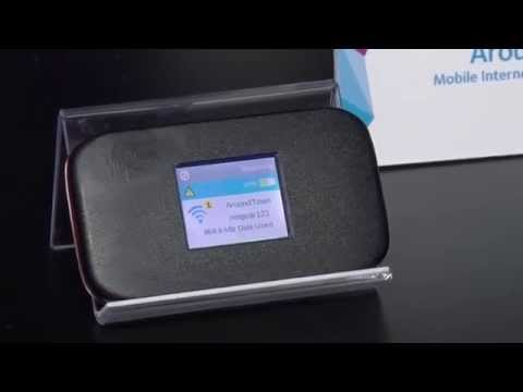 How to Get Mobile Internet with NETGEAR's Around Town Mobile Internet Device