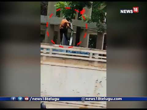 షాకింగ్ వీడియో: ట్యాంకర్లో నీళ్లు పడుతూ కాళ్లు కడిగిన వ్యక్తి | Moosapet hmwssb person viral video