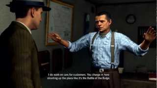 LA NOIRE | Traffic Cases DLC | 5 Stars | A Slip of the Tongue