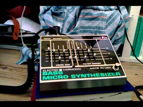 electro harmonix bass micro synthesizer part01 youtube. Black Bedroom Furniture Sets. Home Design Ideas