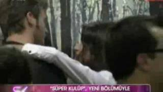 Kivanc Tatlitug & Beren Saat in SuperKulup - October 29th 2011