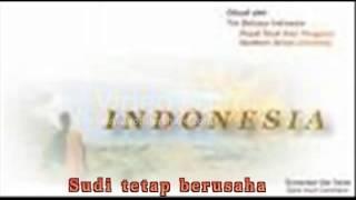 Lagu Perjuangan / Lagu Wajib - Bangun Pemuda Pemudi ( Lirik ) ( SMA N 1 DEMAK )