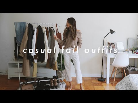 FALL OUTFITS 🍂 | fall fashion lookbook 2019