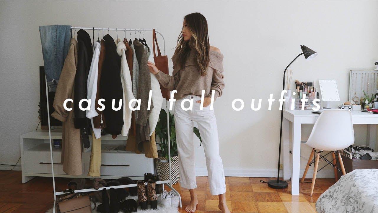 FALL OUTFITS ? | fall fashion lookbook 2019 2
