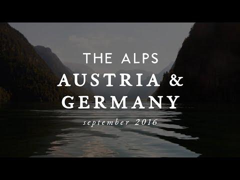 Austrian & German Alps // September 2016