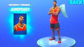 rare! Les peaux de basket-ball sont BACK..! Jumpshot/Triple Threat (NOUVEAU Magasin d'objets) Fortnite Battle Royale