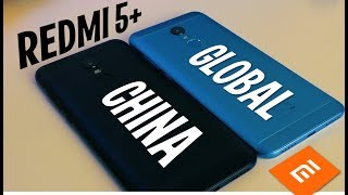 5 Отличий GLOBAL версии от Китайской! XIAOMI REDMI 5 PLUS синий