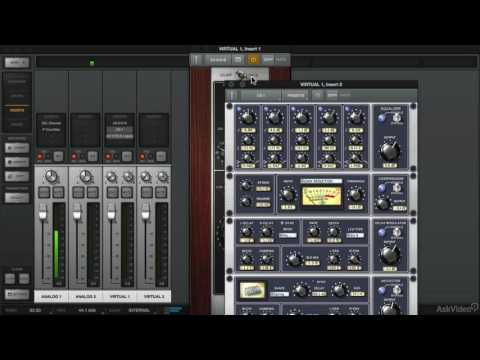 Universal Audio 201: Learn The Mix Console - 10. Virtual Channels