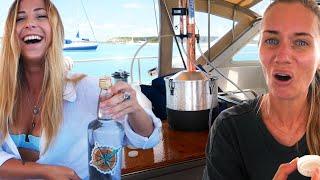 Feel the Burn...  MOONSHINING 101 on a Sailboat (Part 1)  SV Delos ep 336