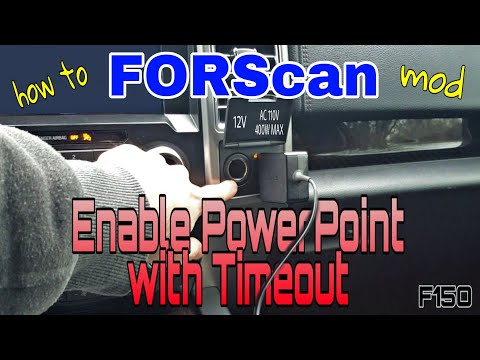 Repeat Forscan ford f150 add seat a/c and heat icons to home