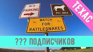 Штат Техас. Дальнобой по США 🇺🇸 Гремучие змеи 🐍 и ответы на вопросы подписчиков