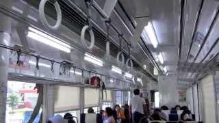 本日10/13引退の、のと鉄道「花さくいろは」ラッピング第1弾の 和倉温泉ー七尾駅間でのアニメ声での車内アナウンスです.