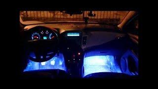 видео Подсветка салона автомобиля своими руками
