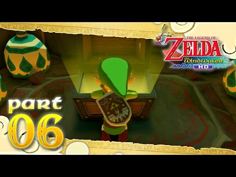 The Legend of Zelda: The Wind Waker HD - Part 6 - Dragon Roost Cavern - Dungeon Map