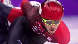 harnessing short-track chaos propelled Samuel Girard to Olympic gold