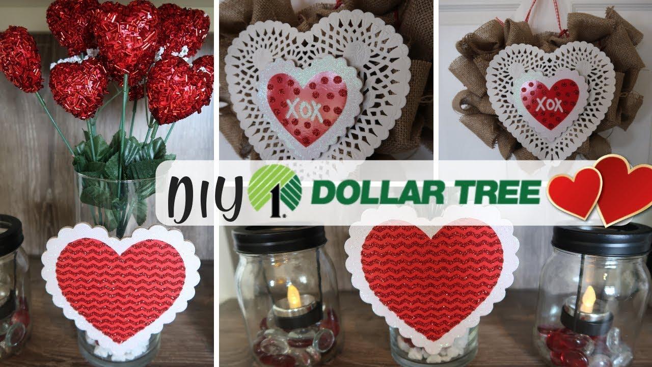 Diy Dollar Tree Valentines Day Decor Diy Valentines Decor Chatbooks Youtube