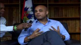 THE LATEST MICHEL MARTELLY  INTERVIEW WITH PDG OF TELE DIASPORA  2011  PART 2