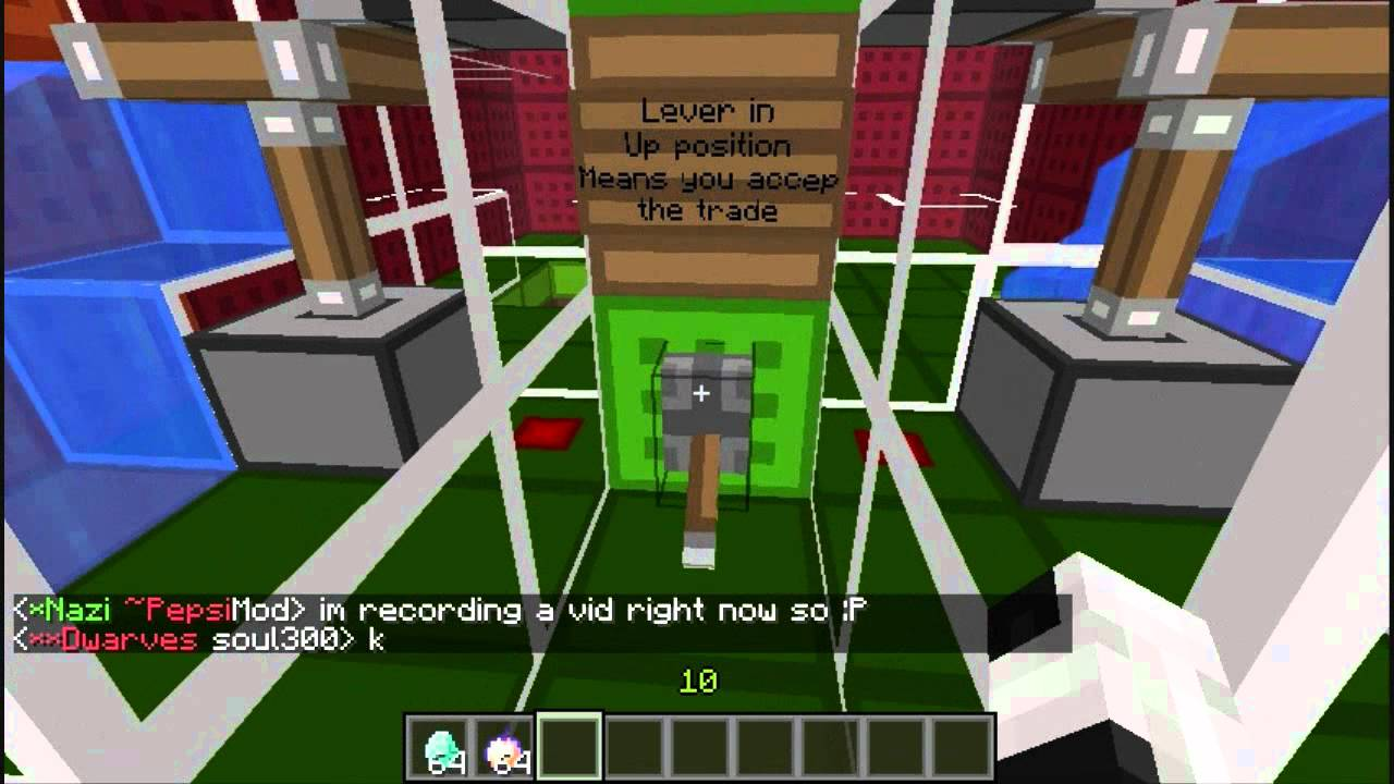 Minecraft xbox 360 how to make a trading system