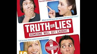Truth Or Lies PS3 (Main Menu)