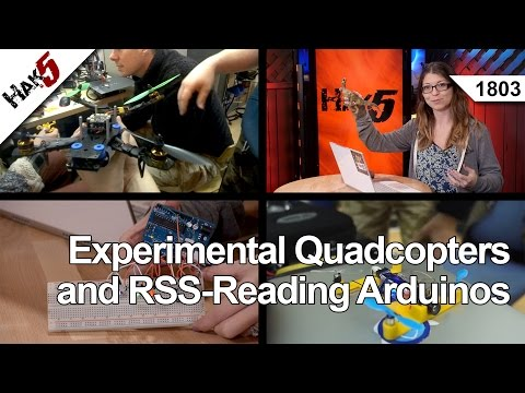Experimental Quadcopters and RSS-Reading Arduinos, Hak5 1803