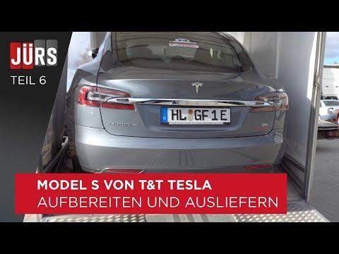 Teil 6 - Aufbereiten und Ausliefern - Tesla Model S von T&T Tesla mit über 300.000km