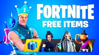 CLAIM YOUR FREE ITEMS in Fortnite! (FREE REWARDS)