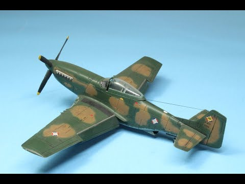 Airfix 1/72 P-51D Dominican Air Force, FAD 1916. Last Operational Mustang!