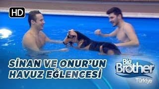 Big Brother Onur ve Sinan'dan yüzme dersleri!