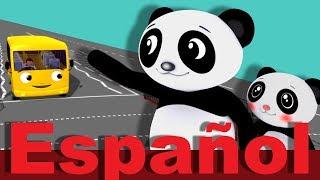 Cruzar la carretera | LittleBabyBum canciones infantiles HD 3D