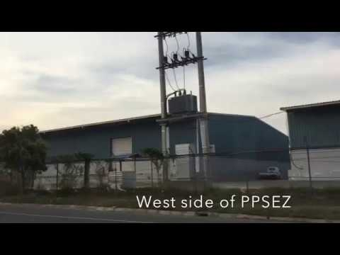 Japan factory in Cambodia at Phnom Penh special economic zone