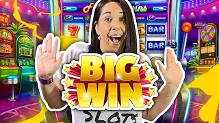 SUPER BIG WIN on Dragon Link !!! Slot Queen takes on the multipliers !
