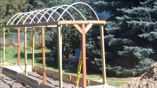 Building The Tomato Trellis!