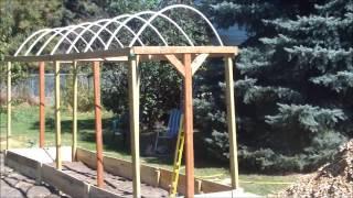 Building The Tomato Trellis!