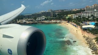 Boeing 787 Dreamliner at Princess Juliana Int