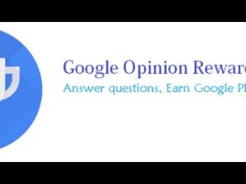 descargar google opinion rewards hackeado