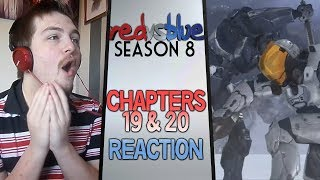 Red vs. Blue Season 8 Chapters 19 & 20 Reaction