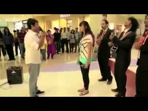 Failed Marriage Proposal In A Mall Youtube