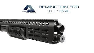 Remington 870 Top Rail, AIM Sports Inc.