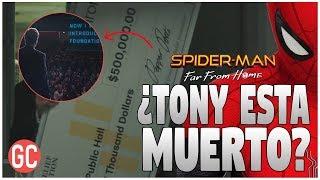 Spider-Man: Far From Home  Fecha Oculta En El Póster Y La VERDAD Sobre La Firma De Pepper Potts