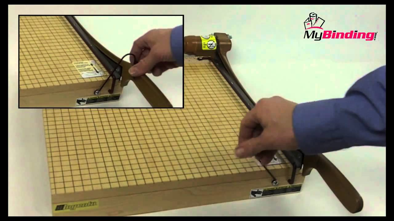 Swingline Ingento 1142 Guillotine Paper Cutter Video Review - YouTube