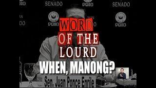 #WordOfTheLourd | Manong Johnny in History